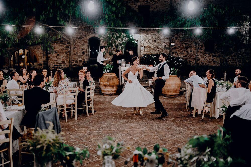 تصوير المصور الإيطالي ميركو توراتي، المتأهل إلى نهائي فئة التصوير منصة الرقص من المسابقة الدولية مصور الزفاف لعام 2020
