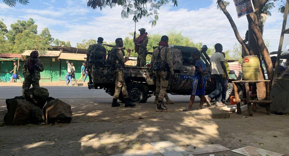 العمليات العسكرية في تيغراي، إثيوبيا نوفمبر 2020