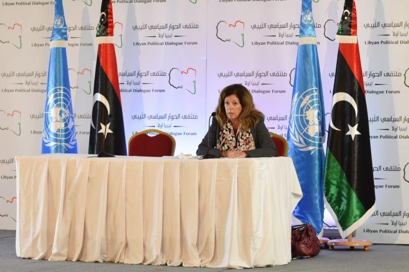 الممثلة الخاصة للأمين العام للأمم المتحدة للدعم في ليبيا ستيفاني ويليامز
