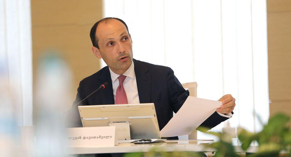 وزير الزراعة الجورجي ليفان دافيتاشفيلي