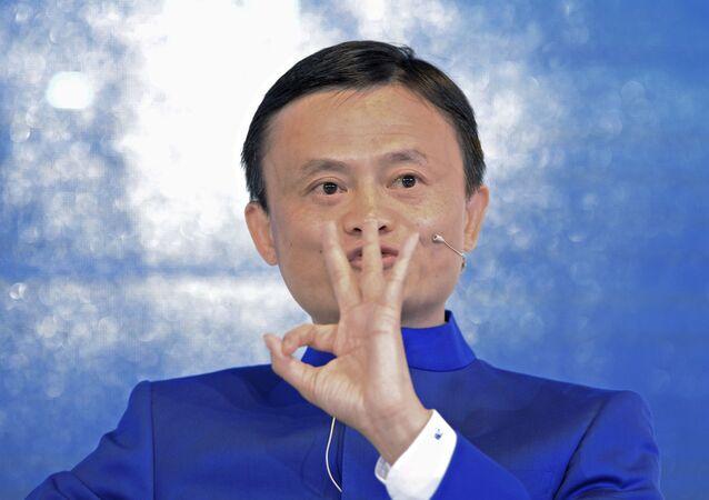 الرئيس التنفيذي لمجموعة علي بابا جاك يون ما
