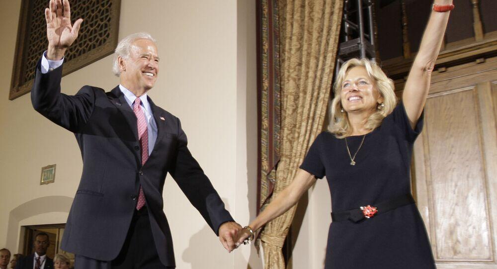 السيدة الأولى للرئيس الأمريكي المنتخب جيل بايدن زوجة جو بايدن، الولايات المتحدة 2008