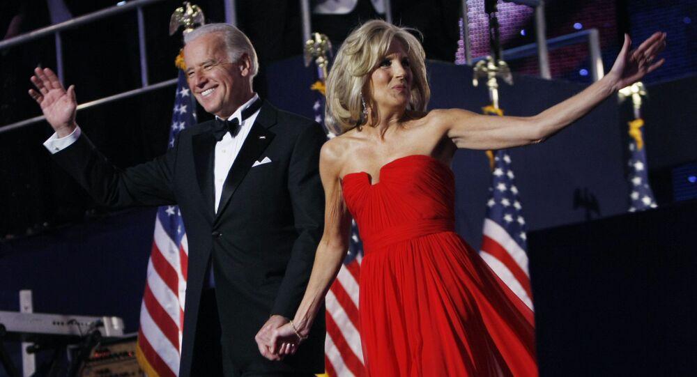السيدة الأولى للرئيس الأمريكي المنتخب جيل بايدن زوجة جو بايدن، الولايات المتحدة 2009