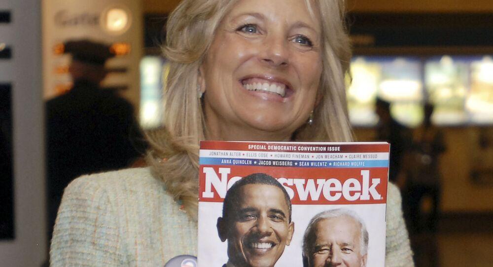 السيدة الأولى للرئيس الأمريكي المنتخب جيل بايدن، الولايات المتحدة 2008