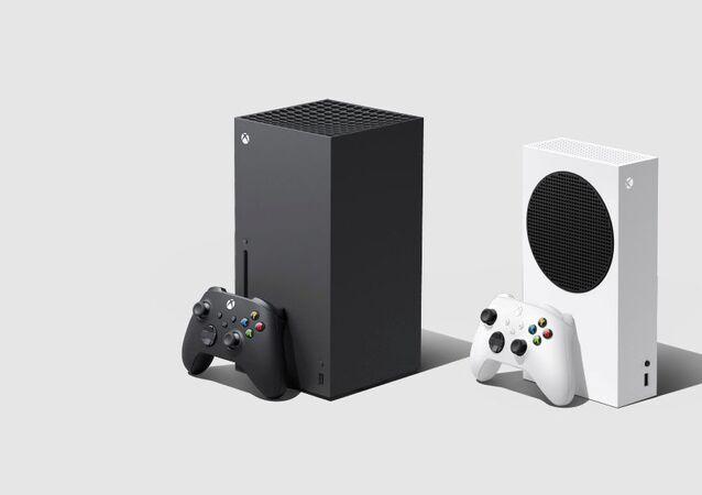 جهاز ألعاب الفيديو إكس بوكس من شركة مايكروسوفت