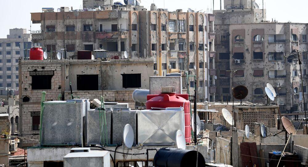 الحياة اليومية في مدينة دمشق، سوريا 12 نوفمبر 2020