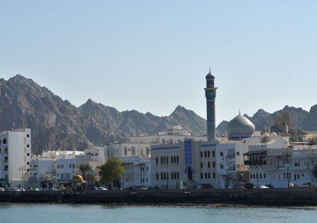 صورة لمدينة مسقط عاصمة سلطنة عمان