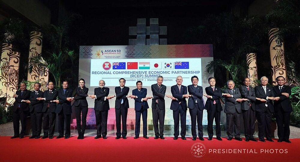 أعضاء الشراكة الاقتصادية الإقليمية الشاملة