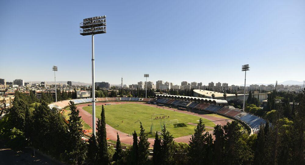 ملعب في سوريا