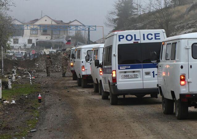 الوضع في منطقة ناغورني قره باغ، بعد وقف إطلاق النار بين أرمينيا و أذربيجان، 14 نوفمبر 2020
