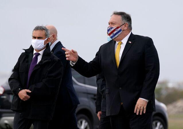 وزير الخارجية الأمريكي  مايك بومبيو في زيارة لفرنسا