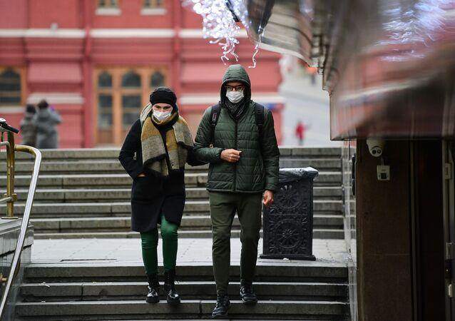 كورونا في موسكو، روسيا 15  نوفمبر 2020