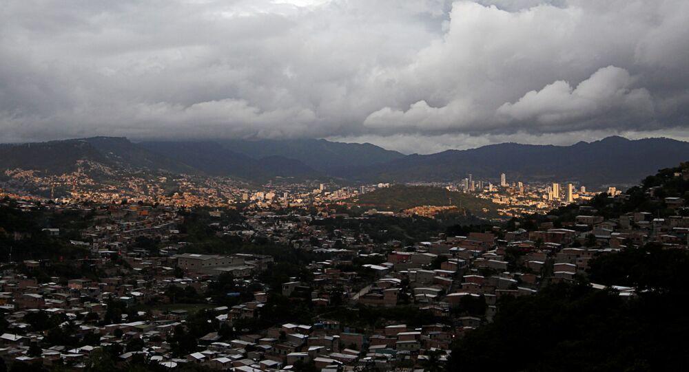 العاصفة الاستوائية إيوتا، هندوراس 15 نوفمبر 2020