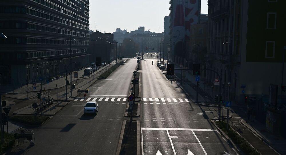 أخبار كورونا في دول أوروبا والعالم - الإغلاق التام في ميلانو، إيطاليا