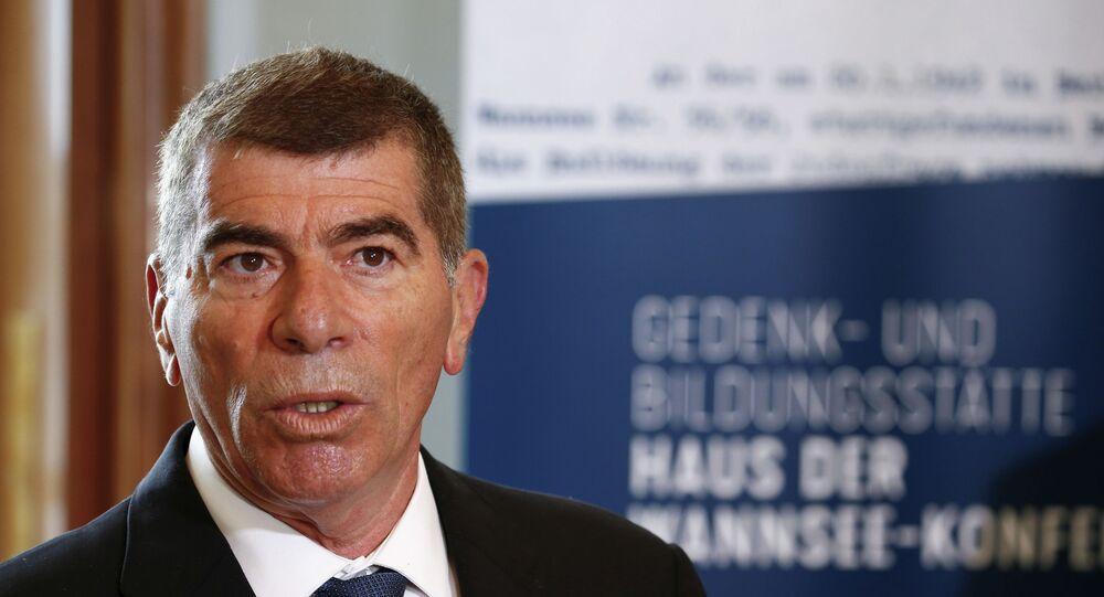 وزير الخارجية الإسرائيلي، غابي أشكنازي