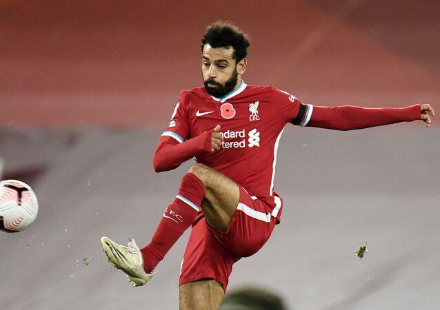 لاعب كرة القدم المصري الدولي محمد صلاح