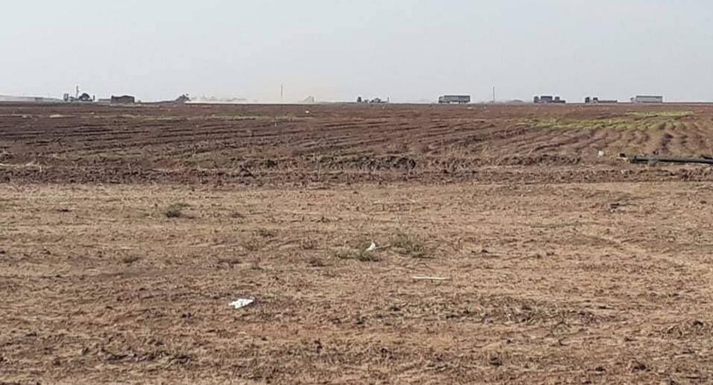 الحدود السورية العراقية بريف محافظة الحسكة شمال شرق سوريا