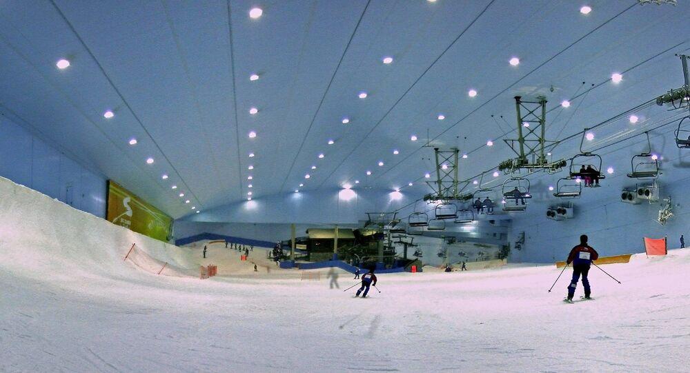 مدينة الثلج دبي