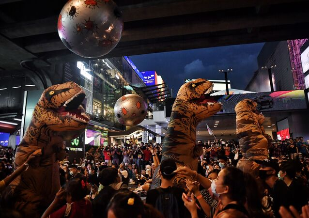 مظاهرات تايلاند