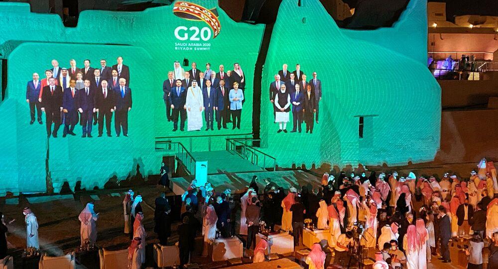 قمة مجموعة العشرين (مجموعة الـ 20) الرياض، السعودية 20 نوفمبر 2020