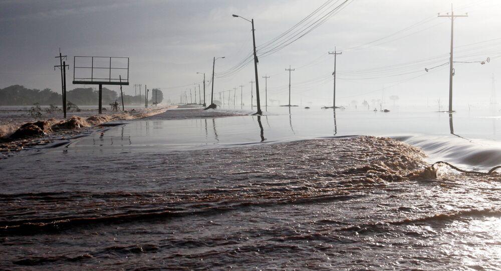 تداعيات إعصار إيوتا في أمريكا الوسطى - هندوراس، 21 نوفمبر 2020