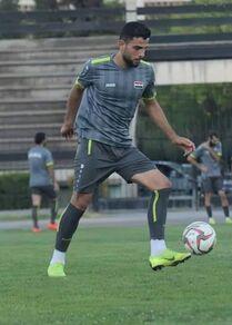 لاعب منتخب سوريا عبد الله الشامي