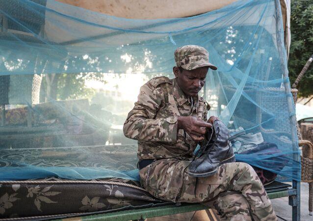 تداعيات التصعيد العسكري في منطقة تيغراي - الحميرة، إثيوبيا 22 نوفمبر 2020