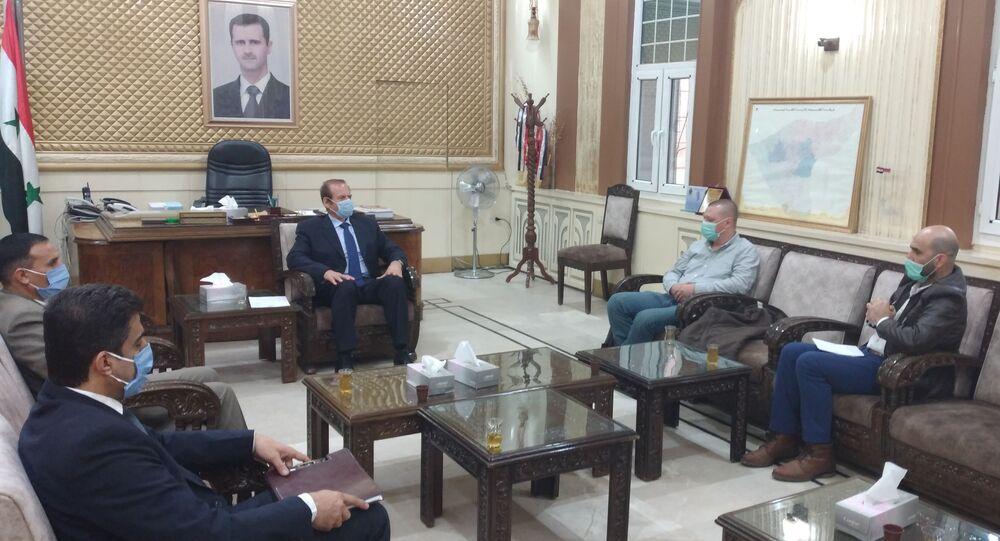 محافظ الحسكة لـسبوتنيك: الاحتلال الأمريكي مازال مستمراً بتهجير السوريين