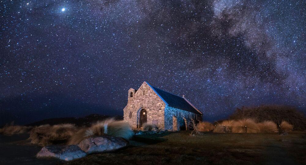 صورة كنيسة الراعي الصالح في نيوزيلندا، للمصورة إيلينا باخليوك، وصلت إلى نهائيات المسابقة الدولية المصور التاريخي لعام 2020