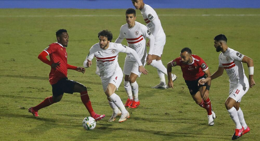 مبارة الأهلي والزمالك في نهائي دوري أبطال أفريقيا، 27 نوفمبر/ تشرين الثاني 2020