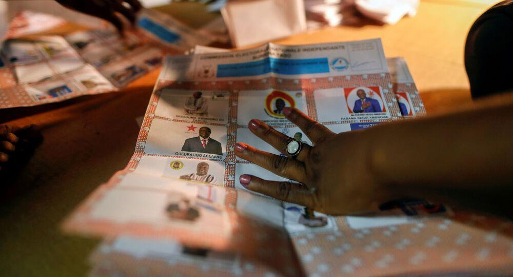 انتخابات بوركينا فاسو