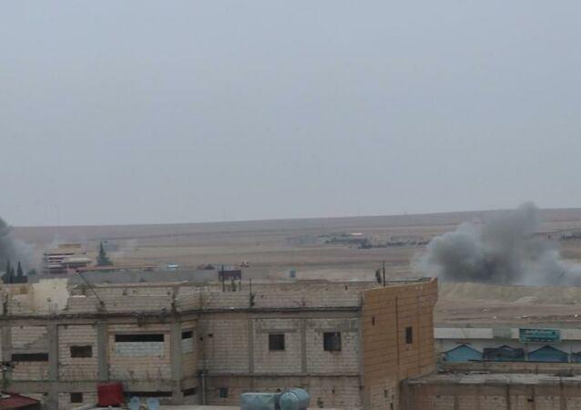 الميلشيات التركمانية تكثف قصفها المدفعي على مواقع الميلشيات الكردية شرقي سوريا
