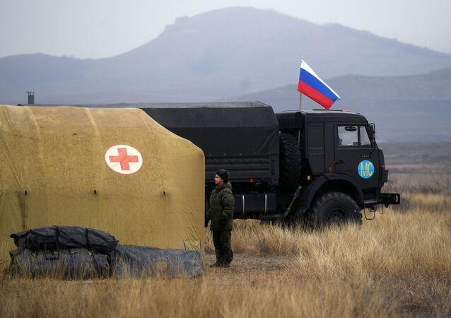 قوات حفظ السلام الروسية، مطبخ ميداني، في ستيباناكيرت، قره باغ