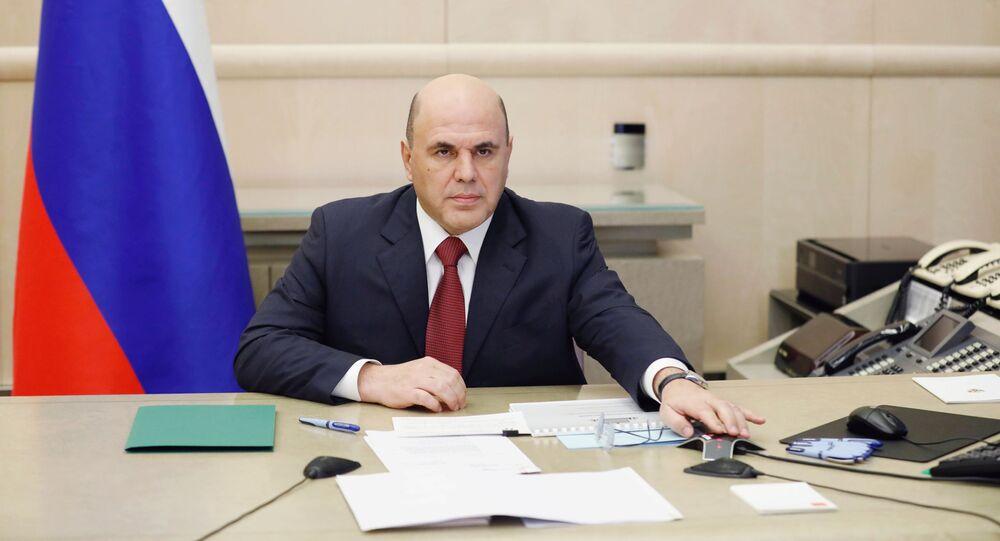 رئيس الحكومة الروسية ميخائيل ميشوستين، روسيا