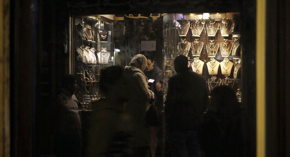 محل الذهب في القاهرة، مصر