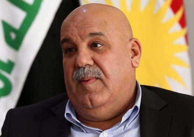 الفريق جبار ياور أمين عام وزارة البيشمركة في إقليم كردستان