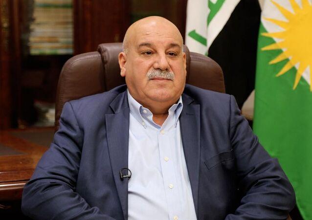 الفريق جبار ياور أمين عام وزارة البيشمركة في إقليم كردستان العراق