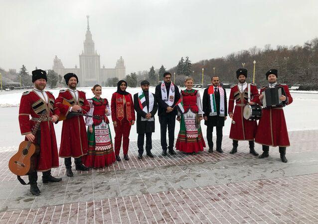 السفارة الإمارتية في موسكو تحتفل بالعيد الوطني