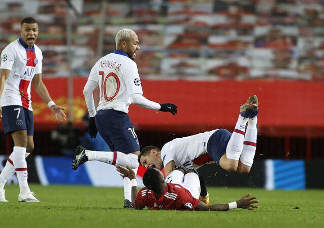 مباراة مانشستر يونايتد وباريس سان جيرمان في دوري أبطال أوروبا