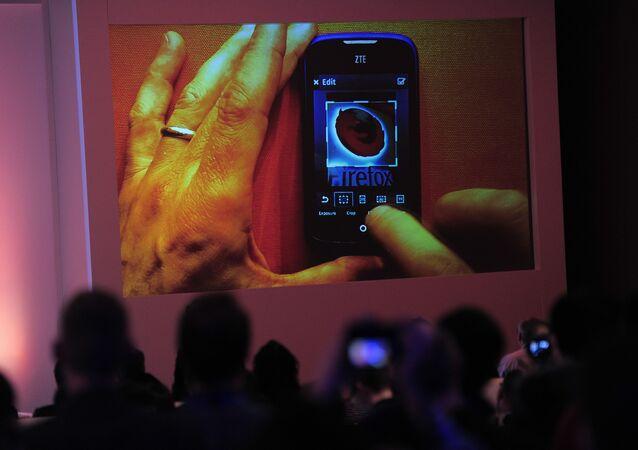 هاتف ذكي من تصميم شركة زد تي إي الصينية