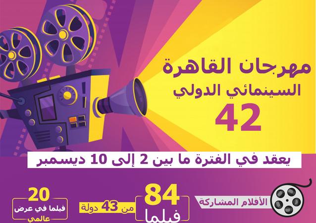 معلومات عن مهرجان القاهرة السينمائي الدولي الـ42