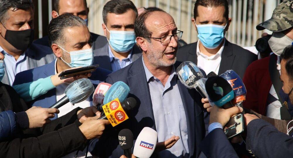 النائب في المجلس النيابي اللبناني إبراهيم الموسوي