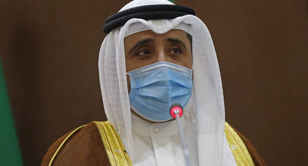 الشيخ أحمد ناصر المحمد الصباح، وزير خارجية الكويت