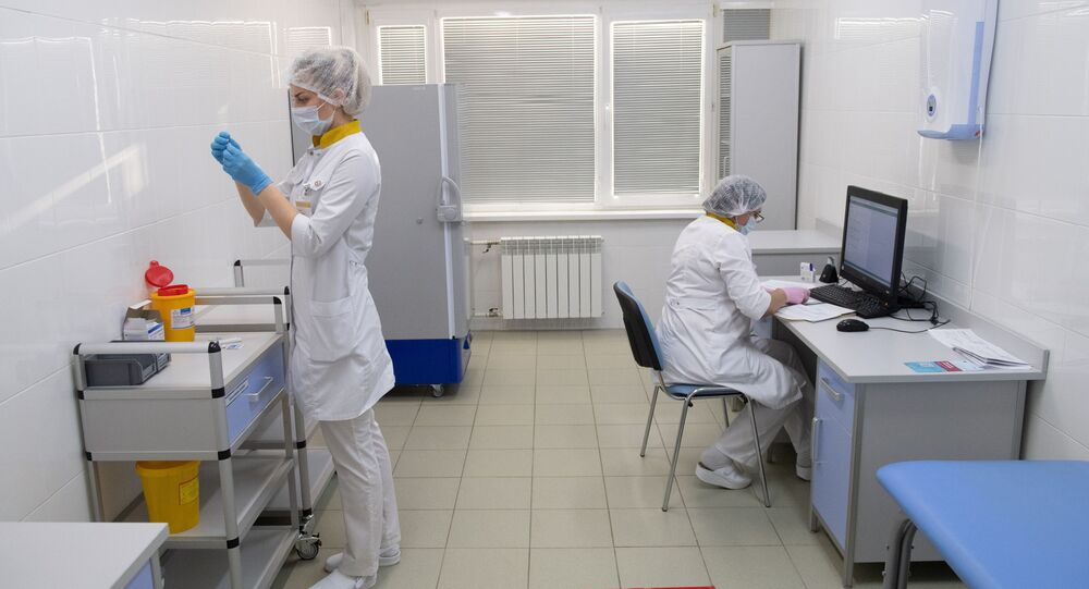 تطعيم أهالي موسكو بلقاح ضد فيروس كورونا (كوفيد - 19)، روسيا 5 ديسمبر 2020