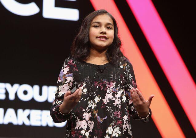 الطفلة الهندية جيتانجالي راو أول من يفوز بلقب طفل العام من مجلة تايم الأمريكية