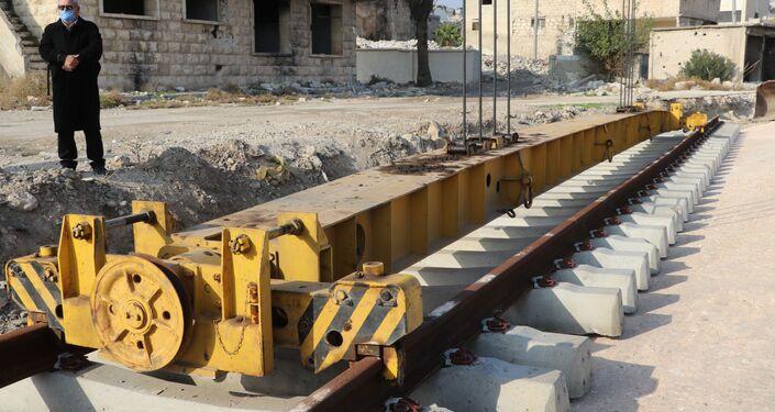 السكك السورية تستأنف رحلات دمشق- حلب