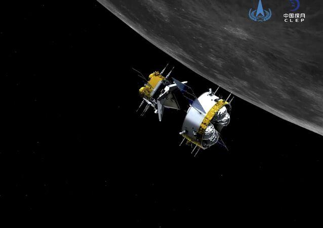 مسبار فضائي تشانغ آه-5 لجمع عينات من القمر وإعادتها، الصين 6 ديسمبر 2020
