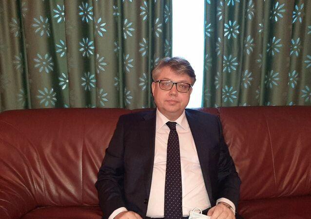 إيغور بيليايف، السفير الروسي في الجزائر، الثلاثاء 8 ديسمبر 2020