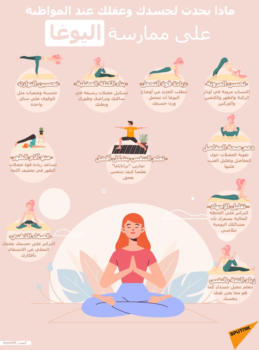 ماذا يحدث لجسدك وعقلك عند المواظبة على ممارسة اليوغا