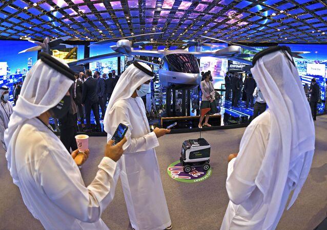 معرض جيتكس في دبي، الإمارات العربية المتحدة 8 ديسمبر 2020